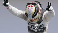 Hamilton gailendu da Silverstonen, Rosberg eta Vettelen aurretik