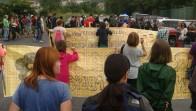 Petronorreko ke zutabeengatik manifestatu dira Muskizeko auzokideak