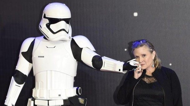 Carrie Fisher. Foto: Efe