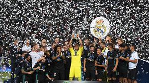 El Real Madrid, campeón. EFE