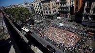 Una gran marcha recorrerá hoy Barcelona por la paz y contra el terrorismo