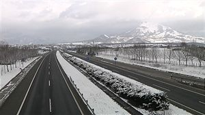 La nieve no genera incidencias en la red principal de carreteras