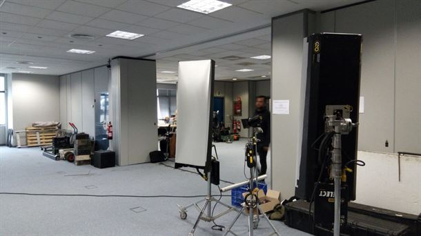 Arranca en la azucarera el rodaje del cortometraje moda for Oficina de empleo vitoria