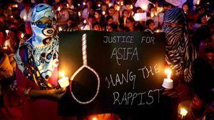 Protesta en India contra las violaciones que sufren miles de mujeres cada día. Foto: EFE