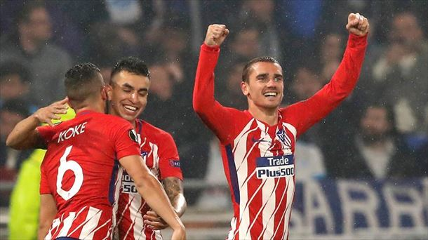 FINAL UEFA EUROPA LEAGUE 2018 ANTOINE GRIEZMANN EFE