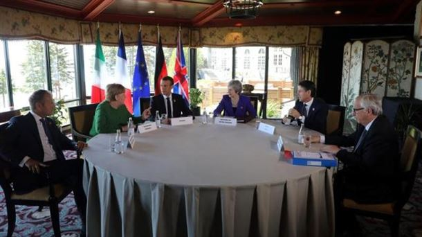 Tumba Trump el G7 y amenaza a aliados