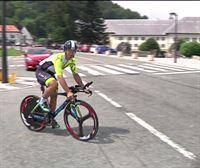 Un ciclista bilbaíno se propone hacer el Camino de Santiago en 24 horas