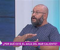 Javier Armentia explica por qué está caliente el mar Cantábrico