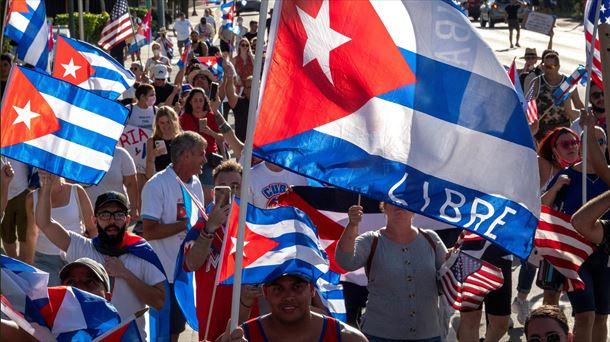 Exilio cubano en Miami (EE. UU.), Foto: EFE