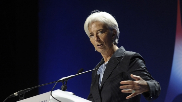 International Monetary Fund (IMF) Managing Director, Christine Lagarde. Photo: EFE