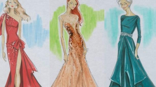 Bocetos De Vestidos De Gala Unpasticheorg Ideas Para Bodas