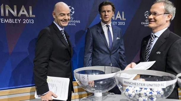 En directo Champions League 2013   Sorteo de cuartos de final ...