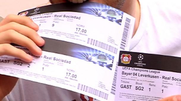 0cca3fc7a Entradas Real Bayer Leverkusen Champions | Se agota todo el papel ...