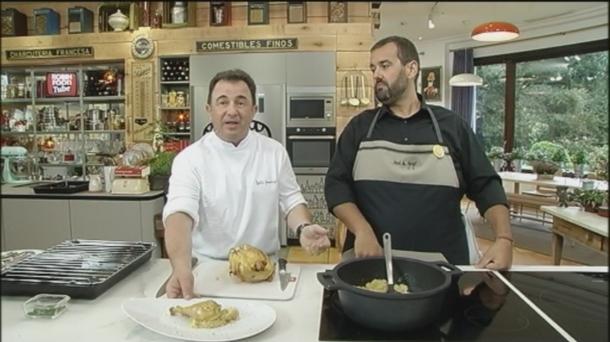 Vídeo: Pollo asado con patatas, con Berasategui y David De Jorge ...