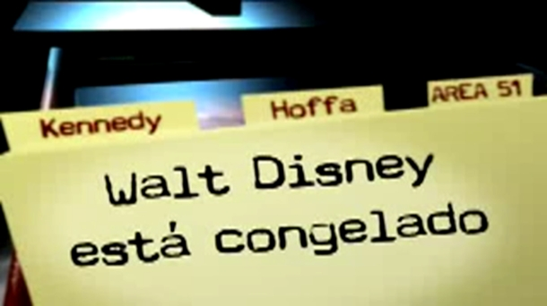 ¿Está Walt Disney congelado?
