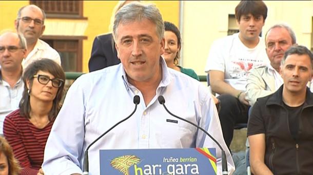 """[EH BILDU] Joseba Asirón: """"Queremos que Iruña siga siendo una ciudad referente en cuanto a crecimiento social y económico"""" Joseba_asiron_1280x720_foto610x342"""
