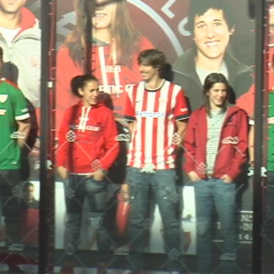 Bideo Athletic  denda berria zabaldu du San Mamesen klub zuri-gorriak  a1e69999d9f82