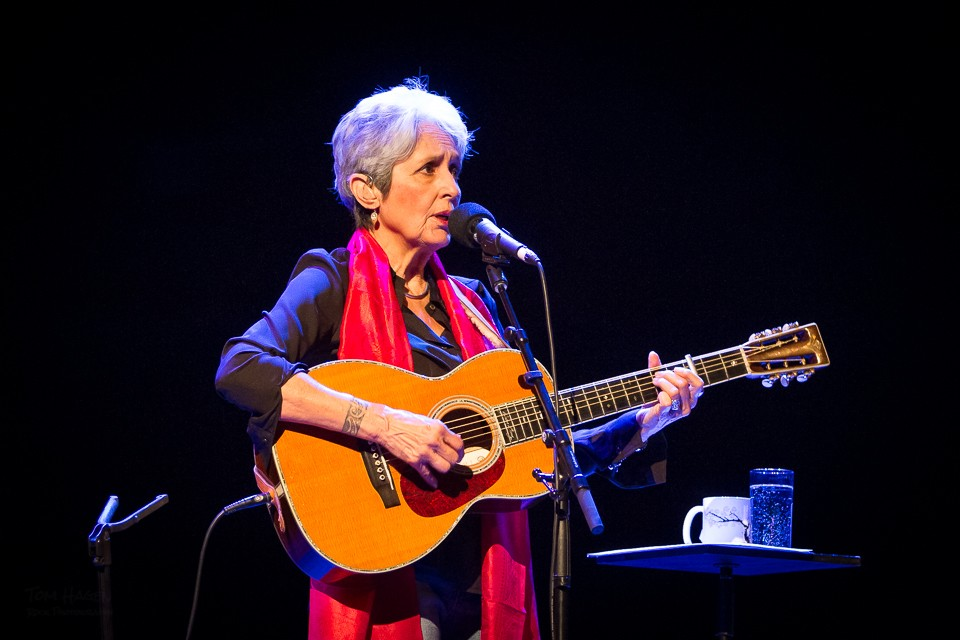 Joan Baez. Foto: Tom Hagen.