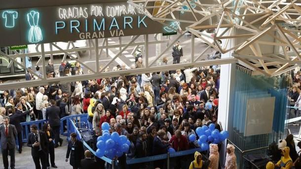 6f8339269 Inauguración de la tienda Primark de Madrid. Imagen de archivo: EFE
