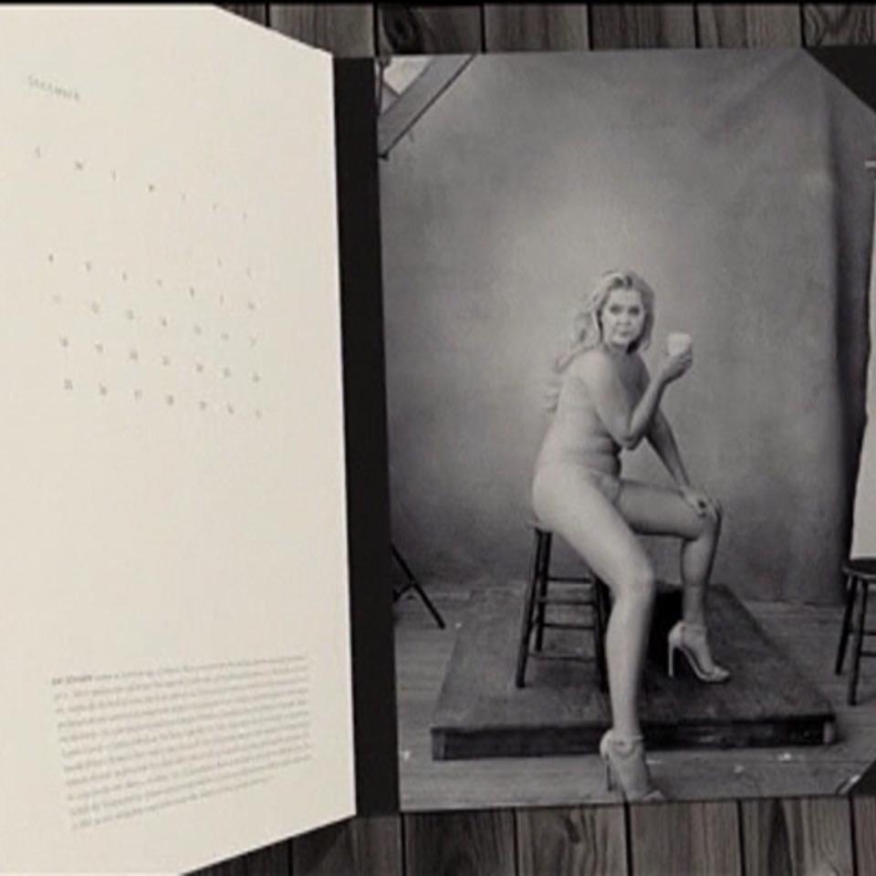 7ddd32c5a6b0 Vídeo: El calendario Pirelli cambia de rumbo y apuesta por mujeres ...