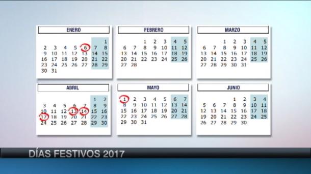 Calendario Con Santos.Calendario Laboral De Euskadi Para 2017 12 Dias Festivos Economia