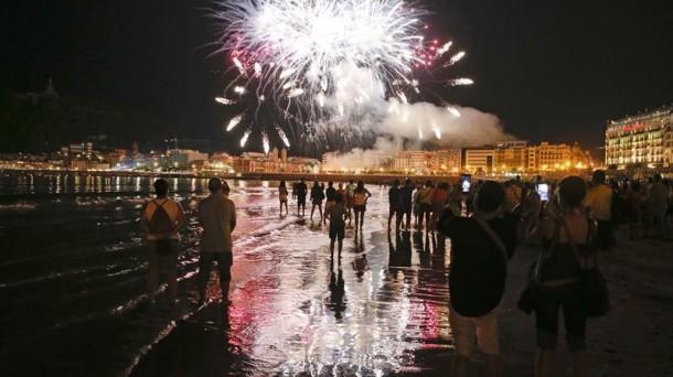 Fuegos Artificiales De La Semana Grande De Donostia 2019 Programación Oficial Pueblos Y Ciudades Eitb