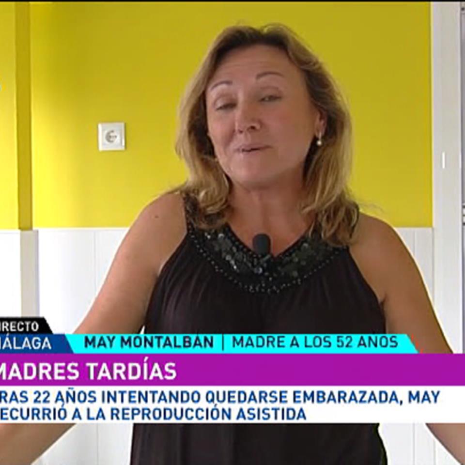 Vídeo: Madres tardías: May Montalbán, mamá a los 52 años | Qué me ...