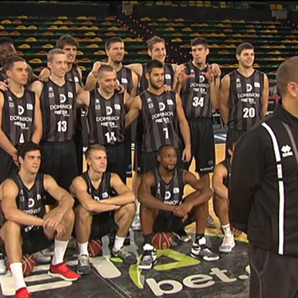 Vídeo Dominion Bilbao Basket ante el inicio de Liga  bd3769d1e9602