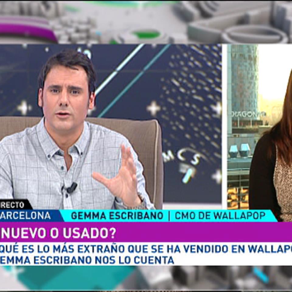 7e3f0afc0c Vídeo  Entrevista a Gemma Escribano sobre productos de Wallapop ...