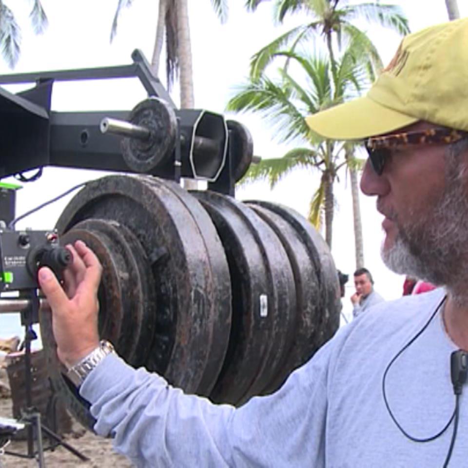 Vídeo: ¿Cómo funciona la cámara-grúa de \'El Conquistador del Caribe ...