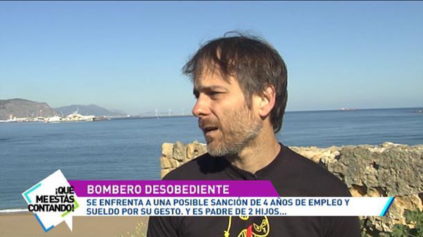 Vídeo: Entrevista con el bombero Ignacio Robles | Televisión | EiTB