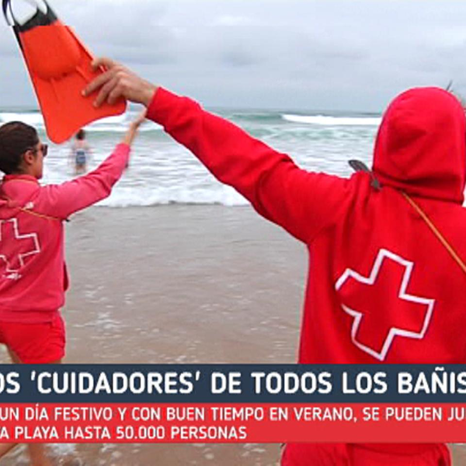 e38b284039277 Vídeo  Socorristas de la Cruz Roja
