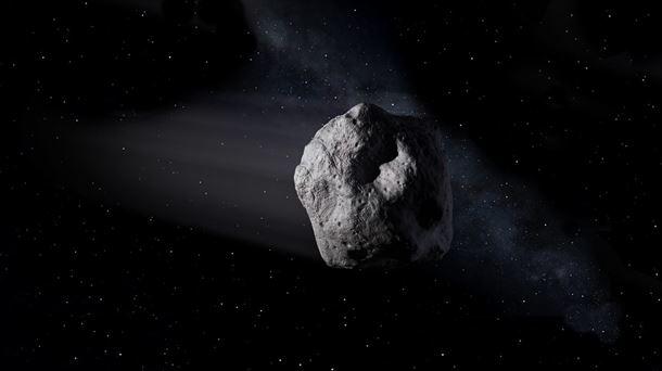 Imagen de archivo de un asteroide. Foto: NASA