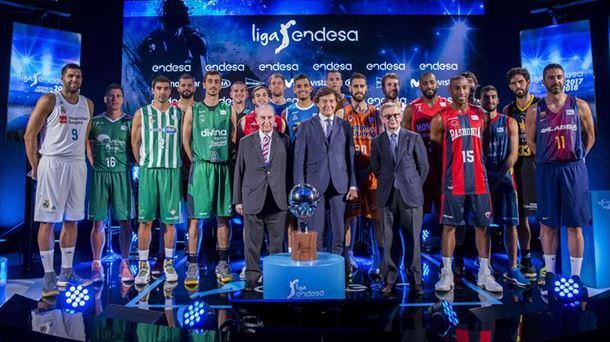 5824507b1e82d Presentación de la Liga Endesa 2017 18. Foto  EFE