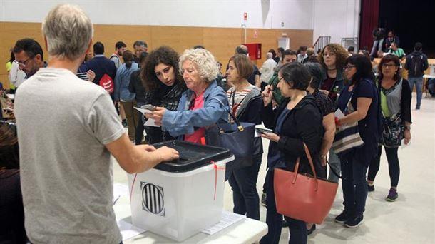 Resultado de imagen de referendum cataluña