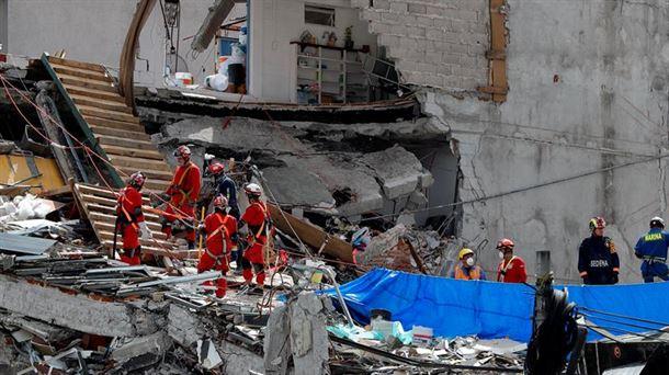 Terremoto En Mexico 19 De Septiembre De 2017 Noticias Del 5 De Octubre Noticias Del Mundo Eitb