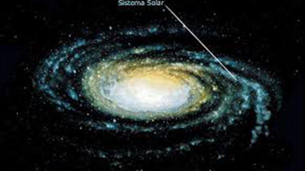 Resultado de imagen de La joven Vía Láctea en formación