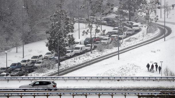 Pamplona activa su plan de nevadas: 8 de enero de 2021 |  Sociedad