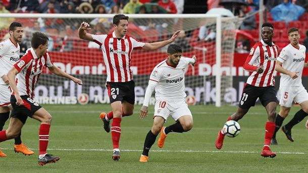 Sevilla 2 - Athletic Club 0 / EFE.