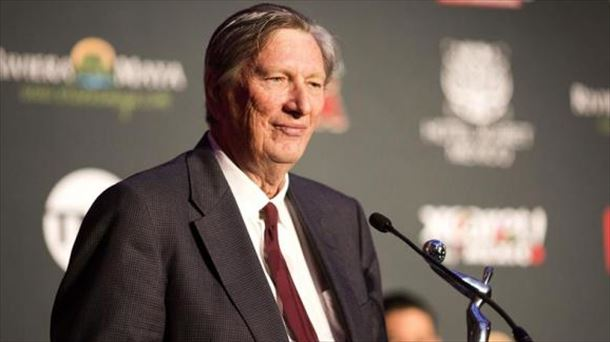 John Bailey, presidente de la Academia de Hollywood. Foto: EFE