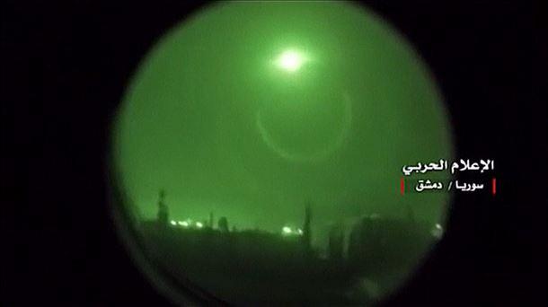 Ataque A Siria 14 De Abril Eeuu Francia Y Gran Bretana Bombardean