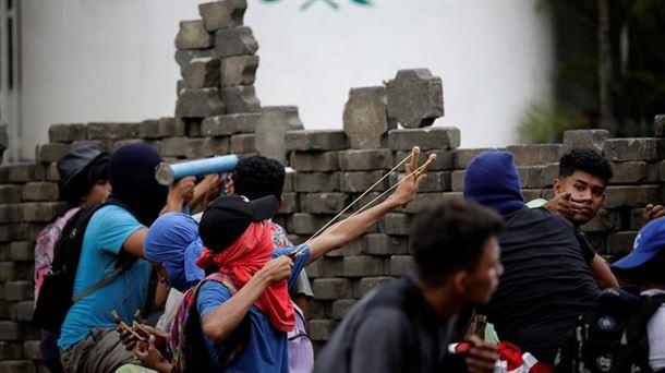 Protestas en Nicaragaua. EFE