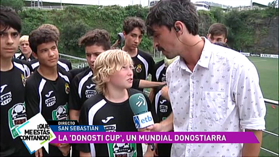 Donosti Cup Calendario Partidos.Video Donosti Cup El Mundial De Futbol De San Sebastian