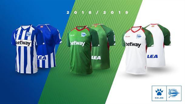 Camisetas del Alavés para la temporada 2018-2019  37504b483340f