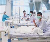 Primeras imágenes en el hospital de los niños rescatados en Tailandia