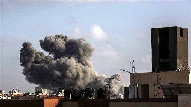 Israel responde ante el lanzamiento de morteros desde Gaza