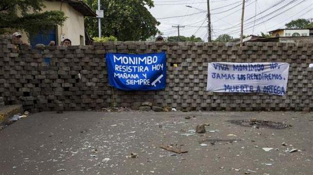 El Gobierno de Nicaragua cerca y ataca la comunidad indígena de Monimbó