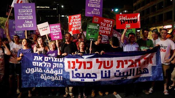 Israel aprueba la polémica ley del Estado Judío