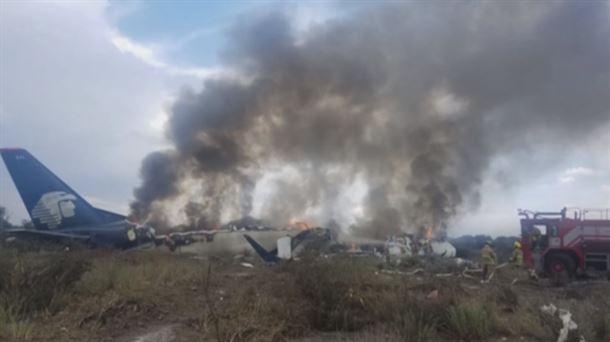 e2f2abe7789 Accidente avión en México