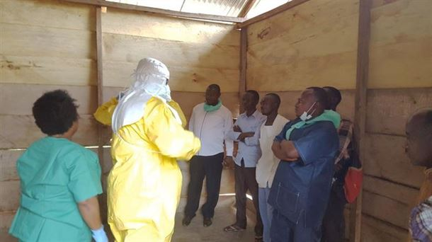 Fallecen 44 personas por el brote de ébola en la República Democrática del Congo